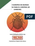 Código Europeo de BPs Control de Chinches