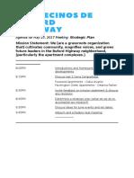 Agenda May 23