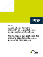 Cnsa Guide Pch Aide Humaine Mars2017