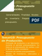20 -PRESUPUESTO-produccion
