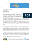Business Leaders Letter to Prime Minister on Marriage Equality