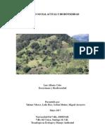 Modelo Social Actual y Biodiversidad
