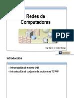 Redes de Computadoras - TCP-IP
