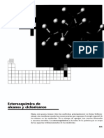 Capitulo Estereoquímica de Alcanos y Cicloalcanos