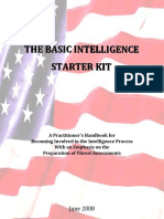 Basic Intelligence Starter Kit