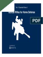 Tactical Rifles Home Defens
