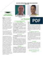 Programme  Heiura Les Verts 1ère circonscription