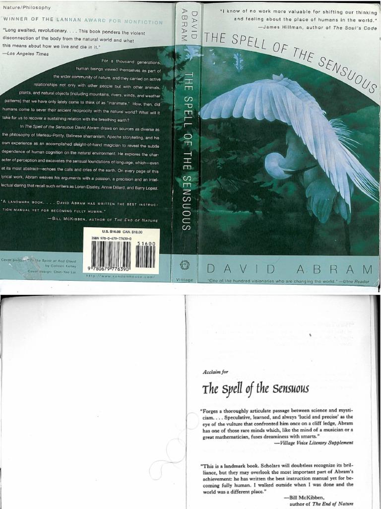 the spell of the sensuous abram david