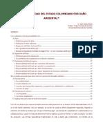 Responsabilidad Del Estado Colombiano Por Daño Ambiental