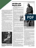 "Columnist David Allen presents his book, ""Getting Started"""