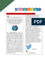 Artículo de Revista Sobre Mercadeo Internacional Valentina Maldonado