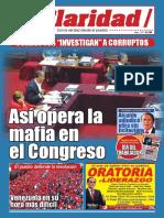 CLARIDAD N° 2 Mayo 2017 Periódico del Sindicato Unitario de Trabajadores del Periodismo y la Comunicación Social del Perú (SUTPECOS)