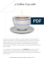 Creating a Coffee Cup With Inkscape