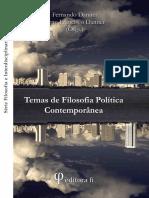 Temas de Filosofia Política Contemporânea - Fernando Danner