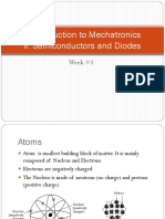 Week 1 Semiconductors and Diodes