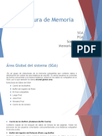 Estructura de Memoria y Procesos de Instancia