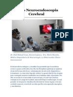 Video Neuroendoscopia Cerebral - Dieb Maloof