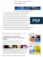 Pengertian Class, Object, Property Dan Method _ Belajar OOP PHP _ Duniailkom