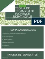 Teoria de Enfermagem de Florence Nightgale