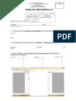 Factores, Multiplos, Razones y Porcentajes
