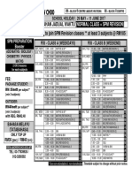 f5s Timetable