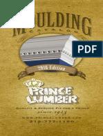 Prince Lumber Moulding Catalog 2016