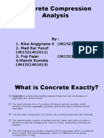Concrete Compression Analysis