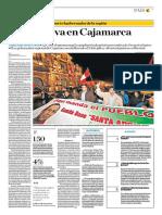 Expectativa en Cajamarca