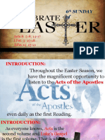 Bishops Homily - 6th Sunday of Easter