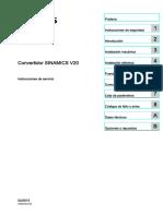 Catalogo Tecnico de Sinamics V20