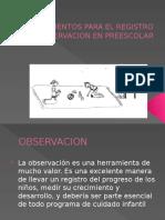 Presentacion Instrumentos de Observacion