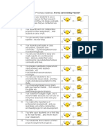 Inventory for 21st Century Readiness