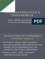 Psihodiagnoza istoric si definitii