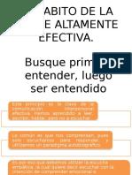 5° HABITO DE LA GENTE ALTAMENTE EFECTIVA
