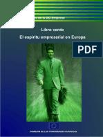 Libro Verde, el espíritu empresarial en Europa.pdf