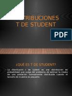 Distribuciones t de Student