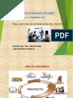 Gestión de Integración Del Proyecto.