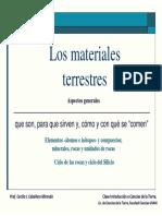 materiales terrestres