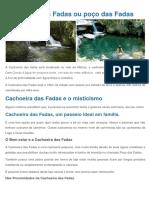 Cachoeira Das Fadas