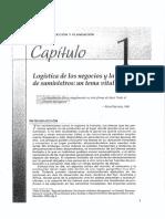 Logística de Los Negocios y La Cadena de Suministros