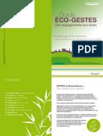Guide Eco Gestes