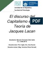 El Discurso Del Capitalismo en La Teoría de Jacques Lacan