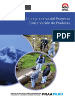 Evaluacion de Praderas Del Proyecto Conservacion de Praderas