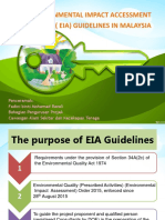EIA Guidelines in Malaysia