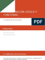 Programación Lógica y Funcional
