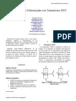 Amplificador Diferencial Con JFET