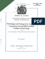Axial Compressor Design