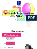 Método de lecto-escritura Mapal