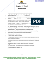 1.1 Number Systems- Key Concepts