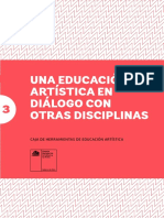 CNCA. Una Educacion Artistica en Dialogo Con Otras Disciplinas.